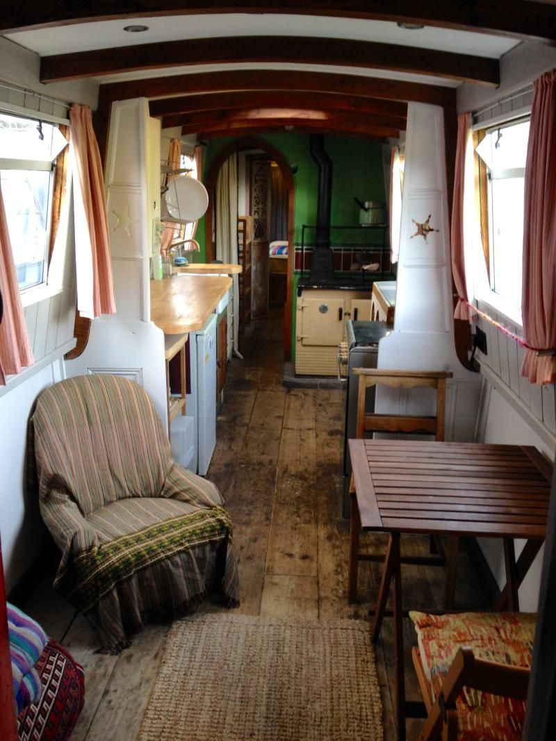 50ft semi trad with images boat house interior house