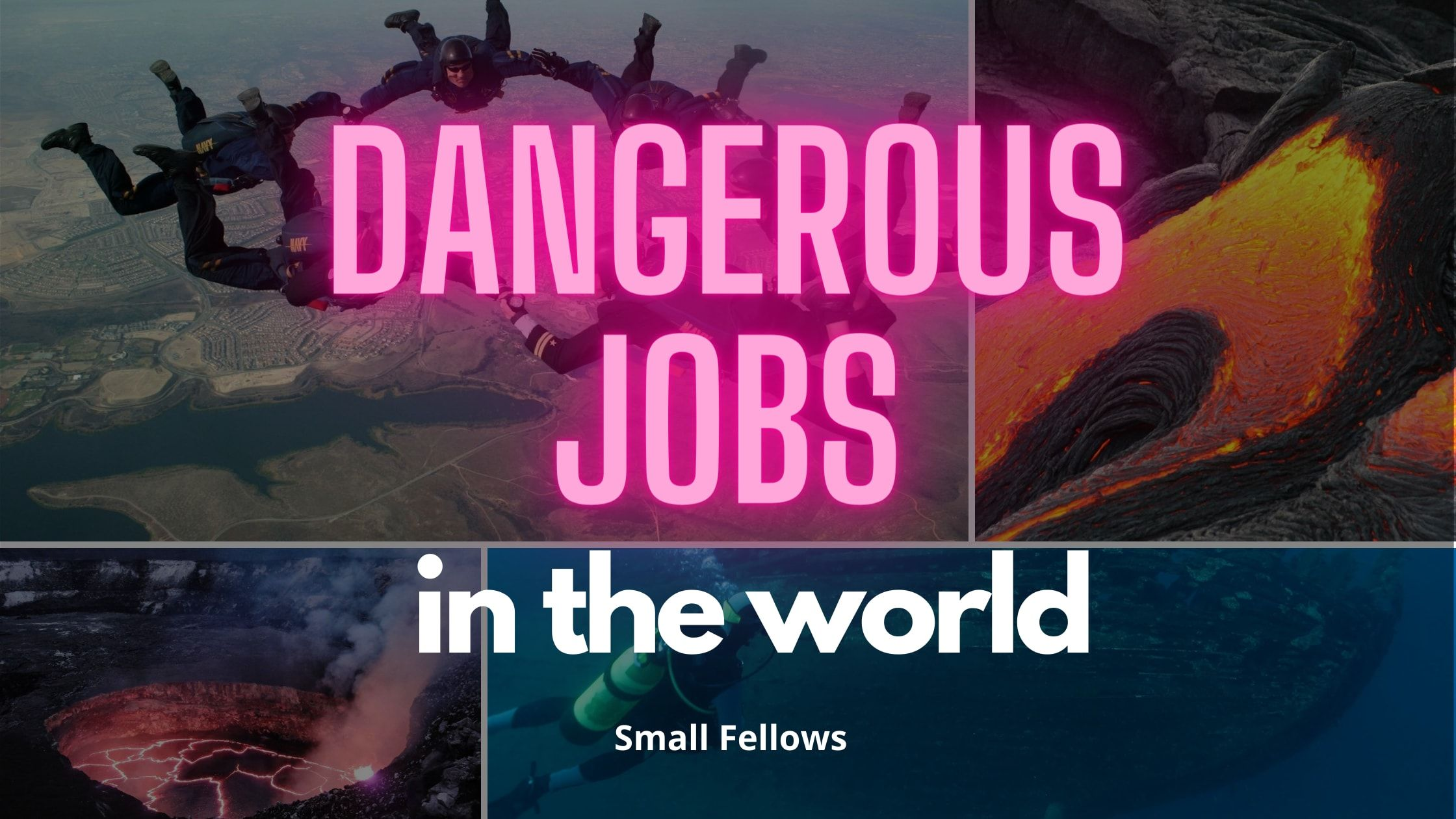 Dangerous Jobs In The World Dangerous Jobs Job World 2020