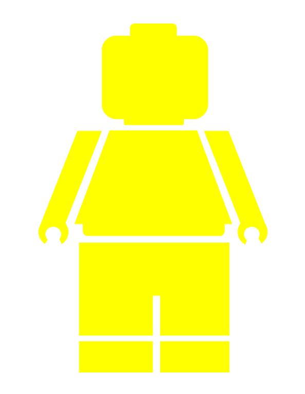 Lego Minifigure.pdf | Projects | Pinterest | Lego minifigure, Lego ...