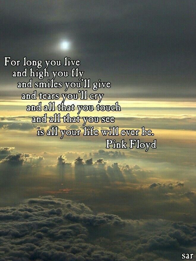 Pink Floyd   Pink floyd lyrics, Pink floyd, Great song lyrics