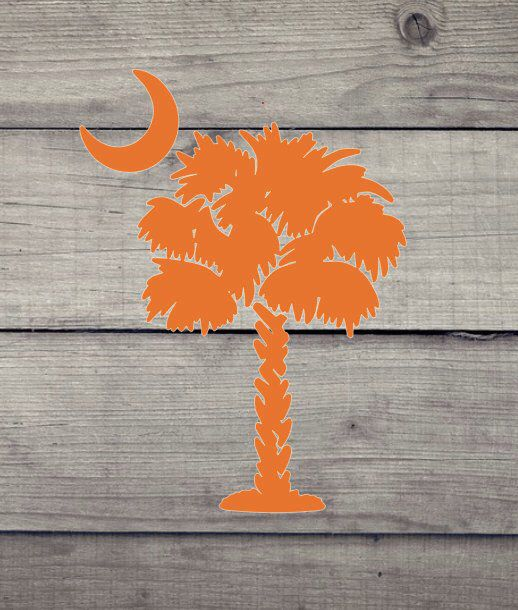 Clemson Christmas Tree: Excited To Share This Item From My #etsy Shop: SC Palmetto