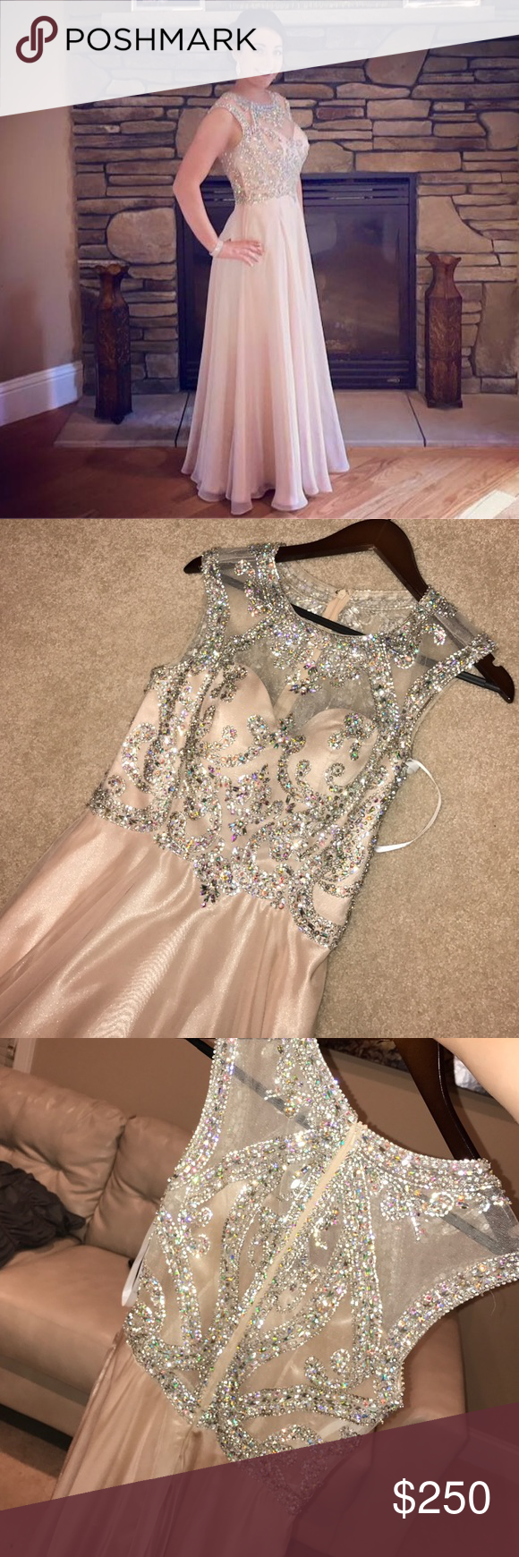 Jovani prom dress size jovani prom dress worn to a junior prom