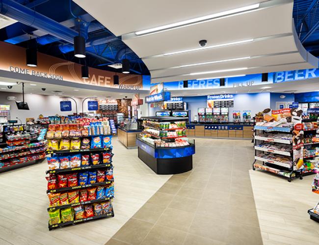 murphy express convenience store tour inside - Convenience Store Design Ideas