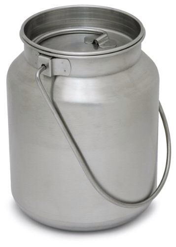 Large 1 Gallon Stainless Steel Jug Perfect For Boiling Water And Cooking For More Than One Person Or Your Entire Family Stainless Steel Survival Steel Bucket
