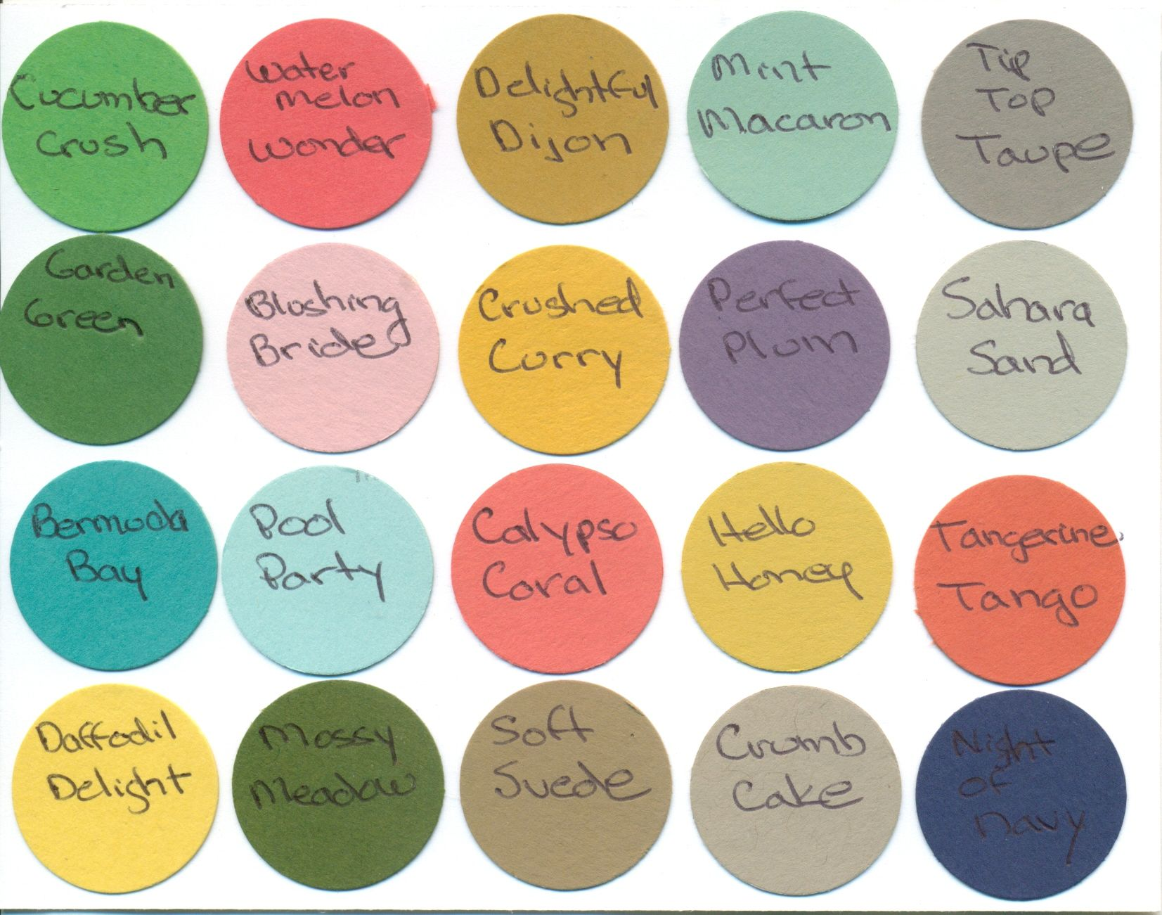 Color Combo new in-colors combo chart. these are the combinations mentioned in