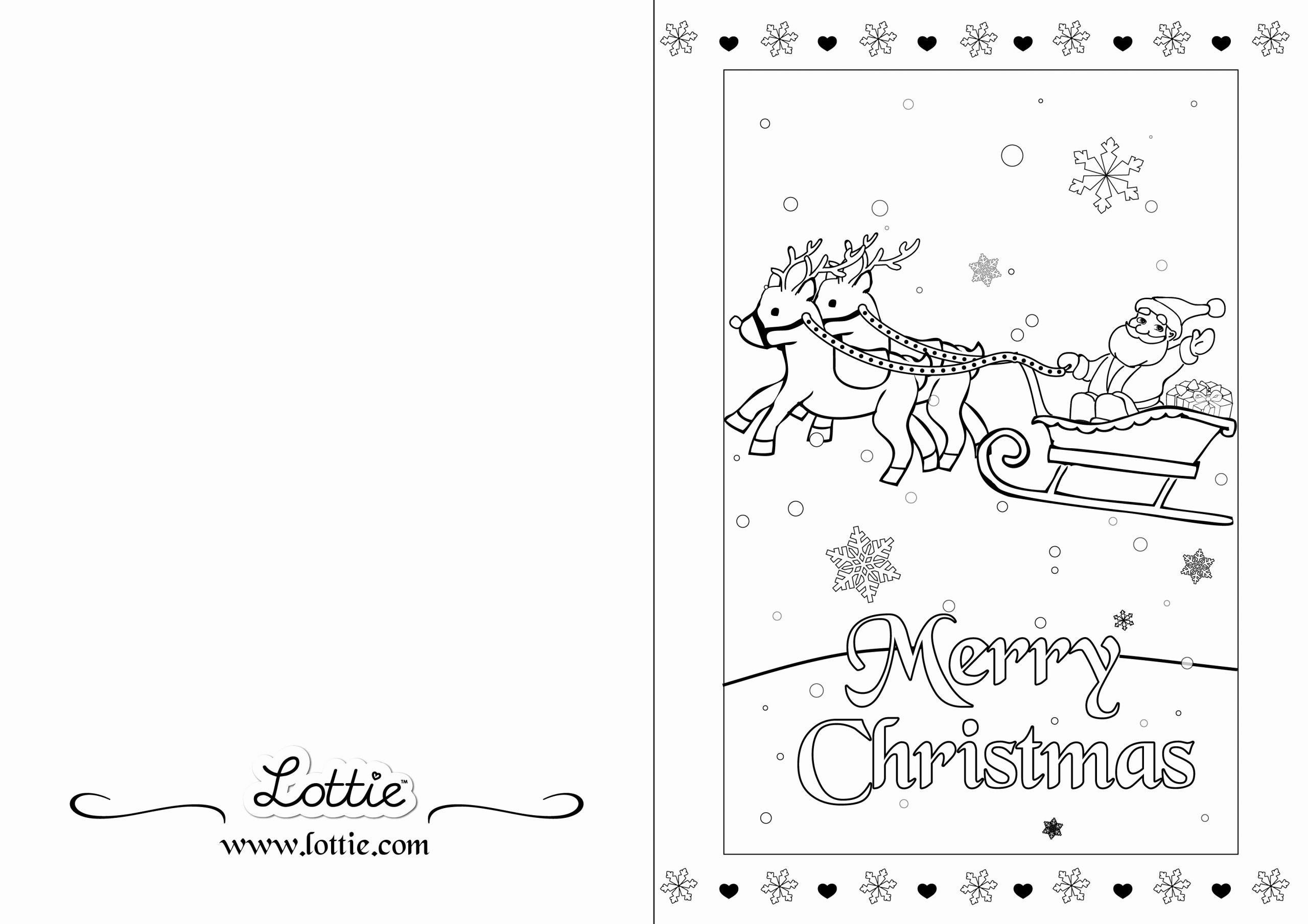 Christmas Colouring Cards Trend