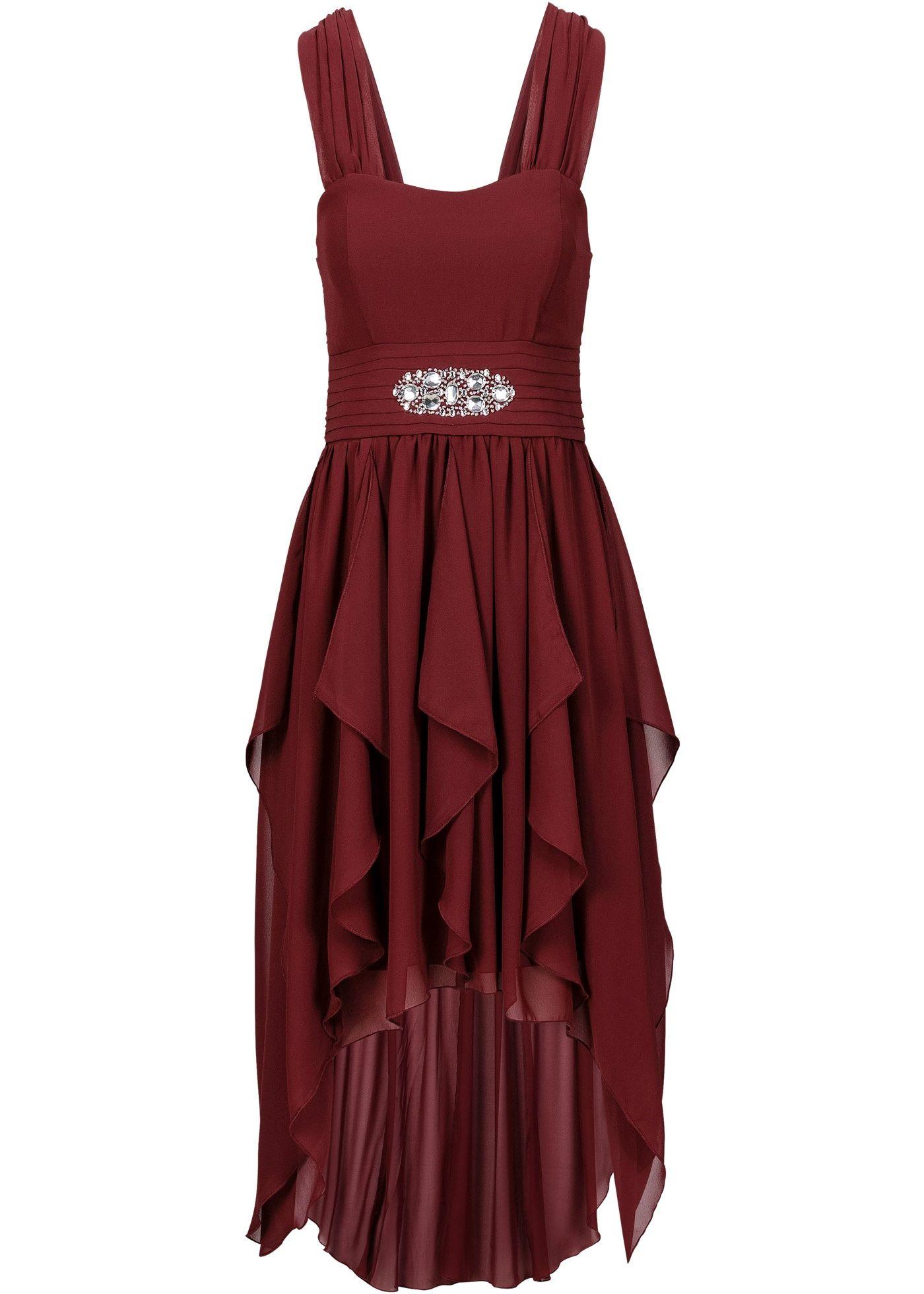 Kleid ahornrot - BODYFLIRT jetzt im Online Shop von bonprix.de ab € 36,99  bestellen. Reizvolles Maxikleid der Marke BODYFLIRT. Mit verstellbaren,  schmalen . db883da2c7