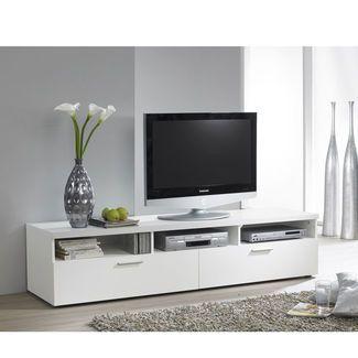 Tvilum Hayward Tv Stand With 3 Shelves Rack Tv Armario De