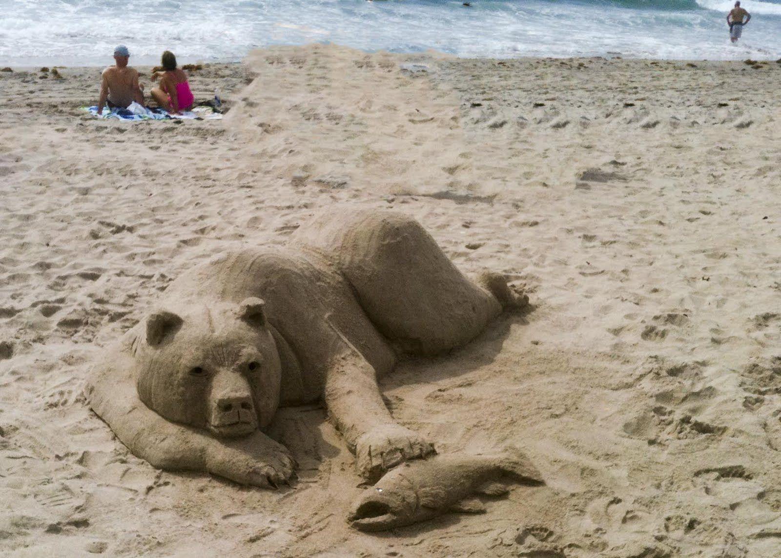 Beach Sand Sculptures | www.pixshark.com - Images ...