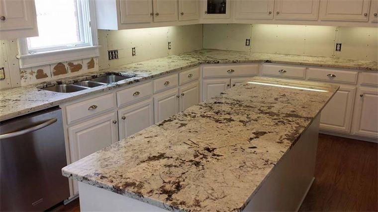 Delicatus Vintage Granite : Delicatus Vintage Granite Kitchen Countertops.