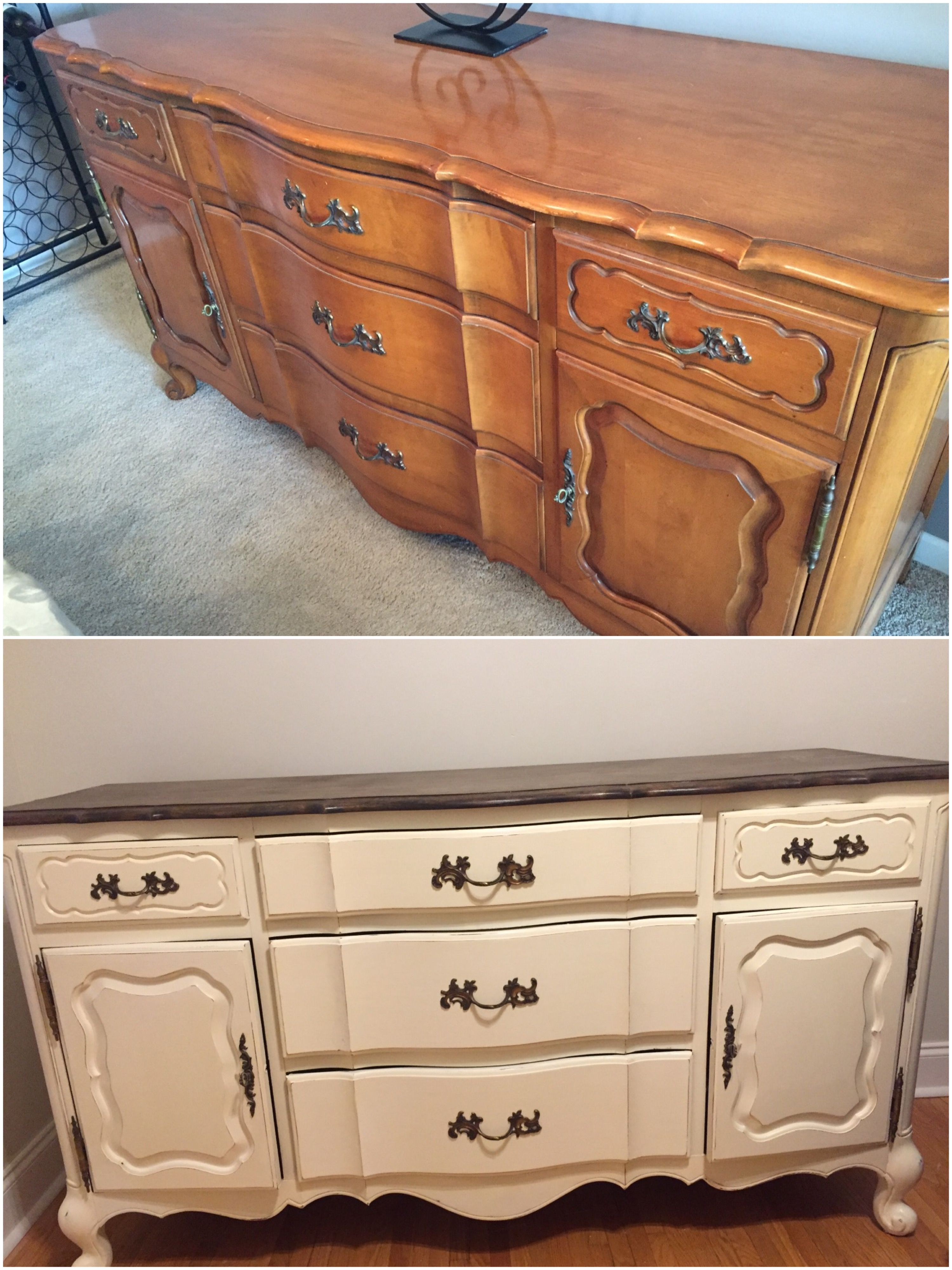 I Gave My Dining Room Buffet Piece To A Friend Turn Into Dresser For