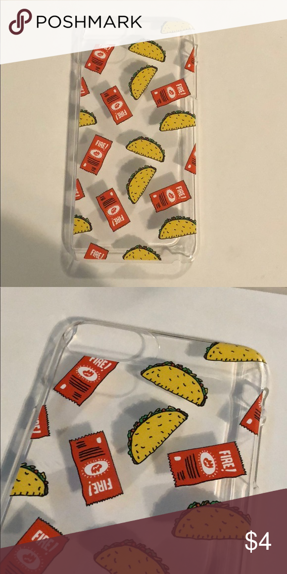 Taco Bell Case For Iphone Plus Tacos And Hot Sauce Packets On The Case Fits Iphone 7 8 Hard Plastic Forever 21 Ac Iphone Cases Iphone Phone Case Accessories