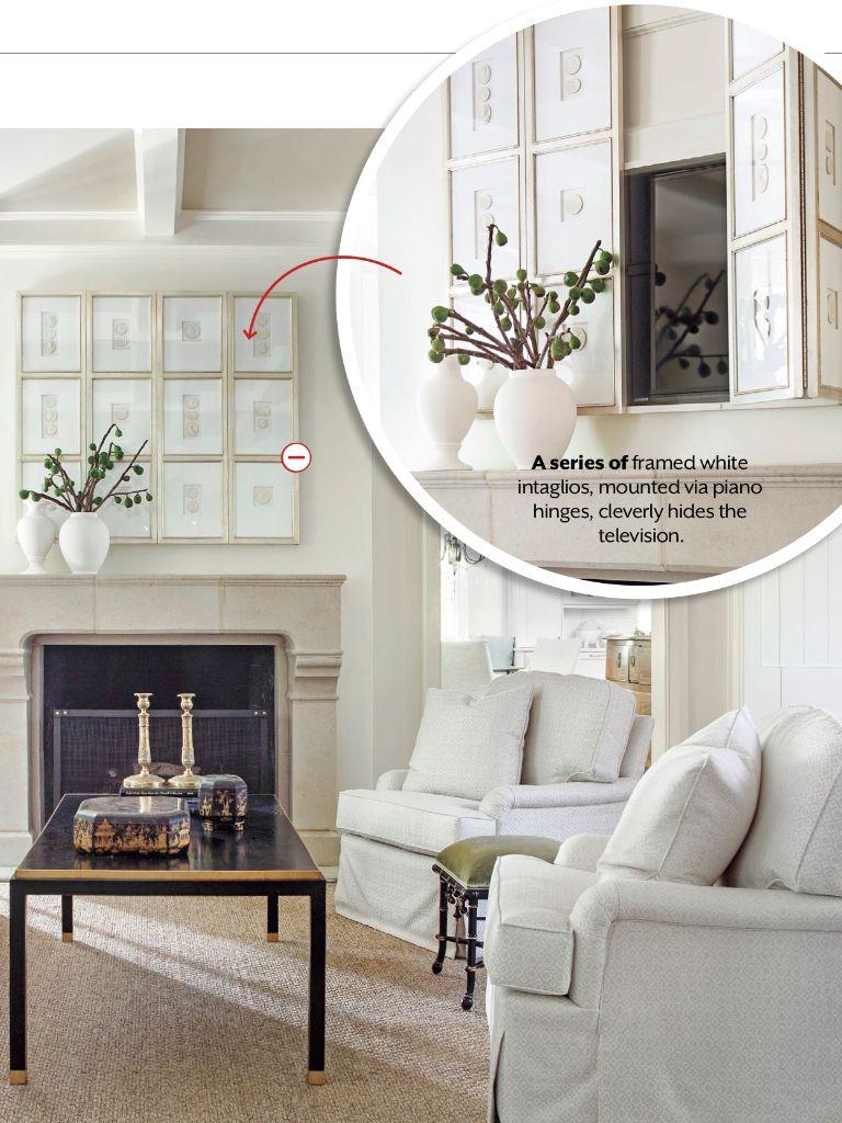 Lighten Up The Living Room Home Home Decor Hidden Tv