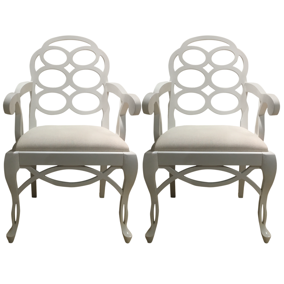 Wondrous Loop Lacquered Mahogany Armchairs Accent Chairs Accent Evergreenethics Interior Chair Design Evergreenethicsorg