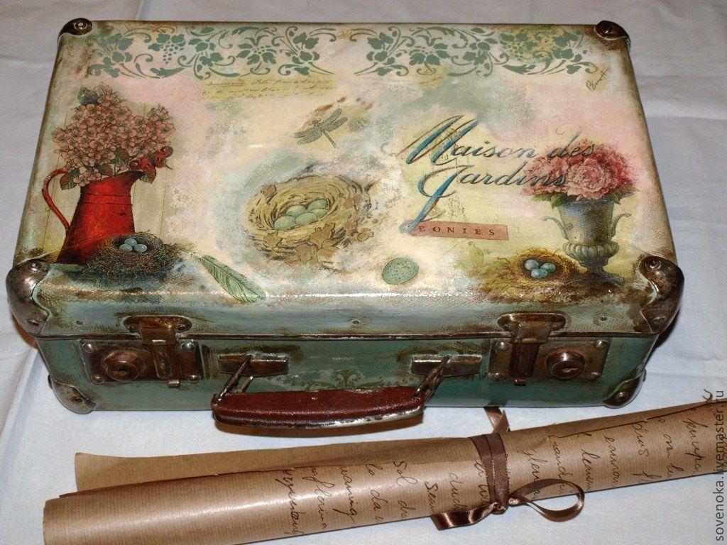 снова винтажные картинки для декупажа чемодана прикамье сих пор