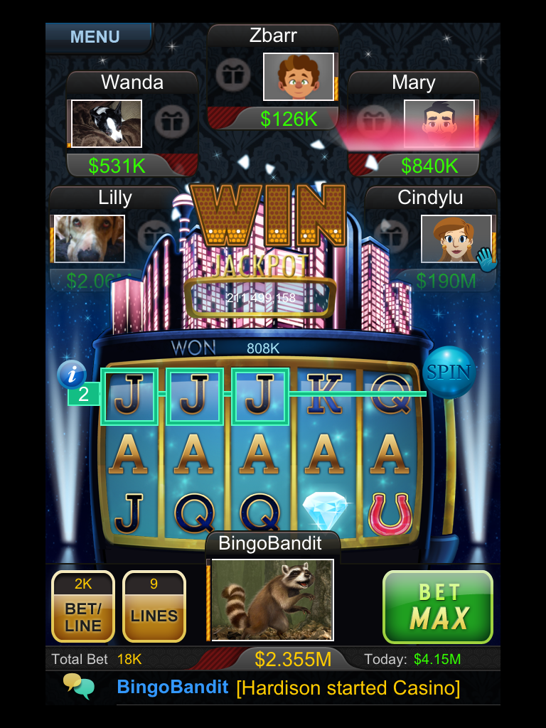 Midnight Luxe. 5 Aces. Arcade games, Games, Arcade