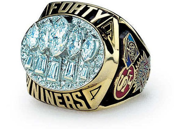 1994 San Francisco 49ers Super Bowl XXIX Ring | Super Bowl Rings  for sale