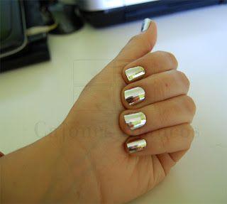Como Hacer Uñas Espejo Nails Uña Efecto Espejo Uñas Y