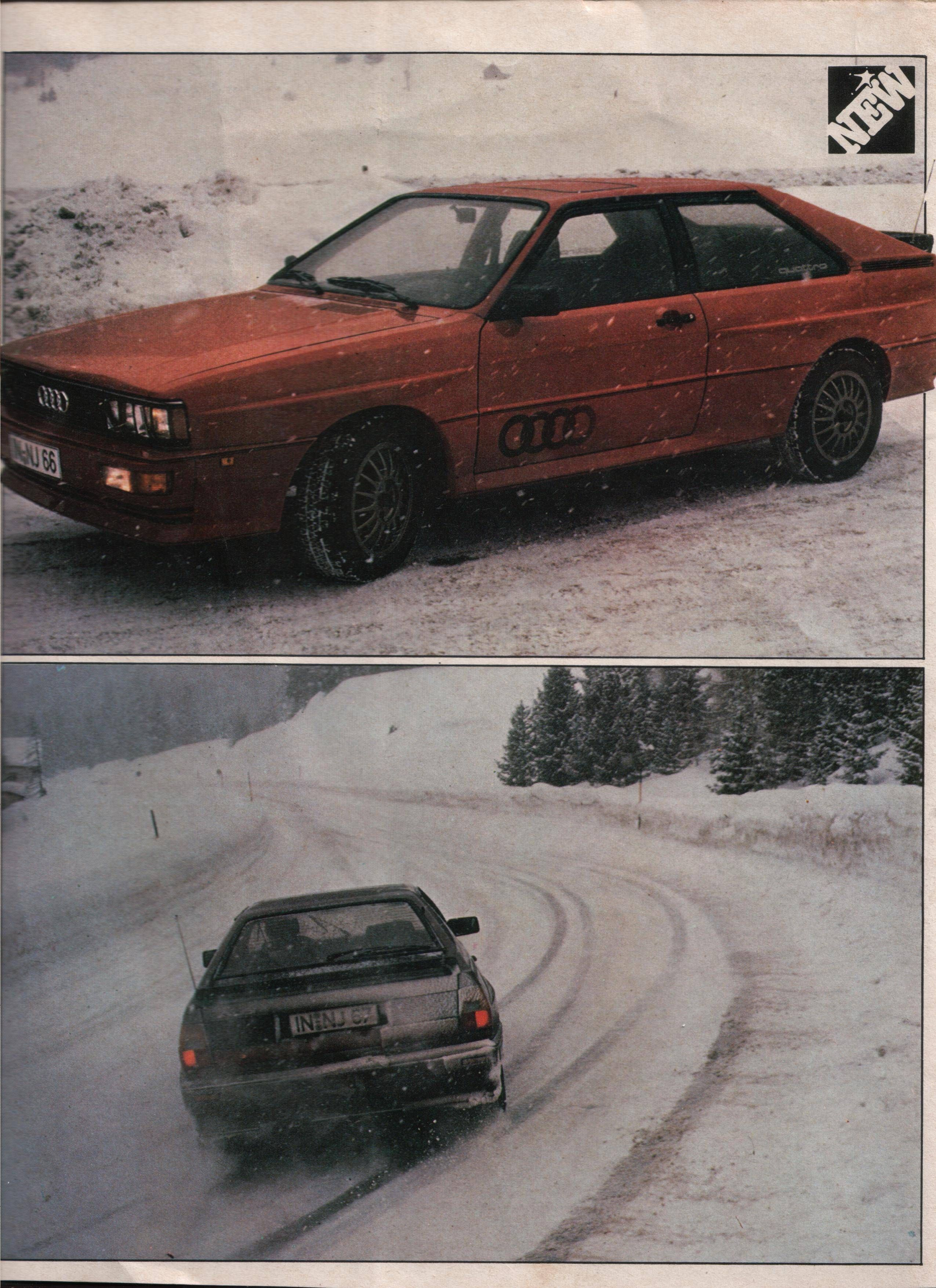 Audi Quattro Both INNJ And Sister Car INNJ The First Road - Audi nj