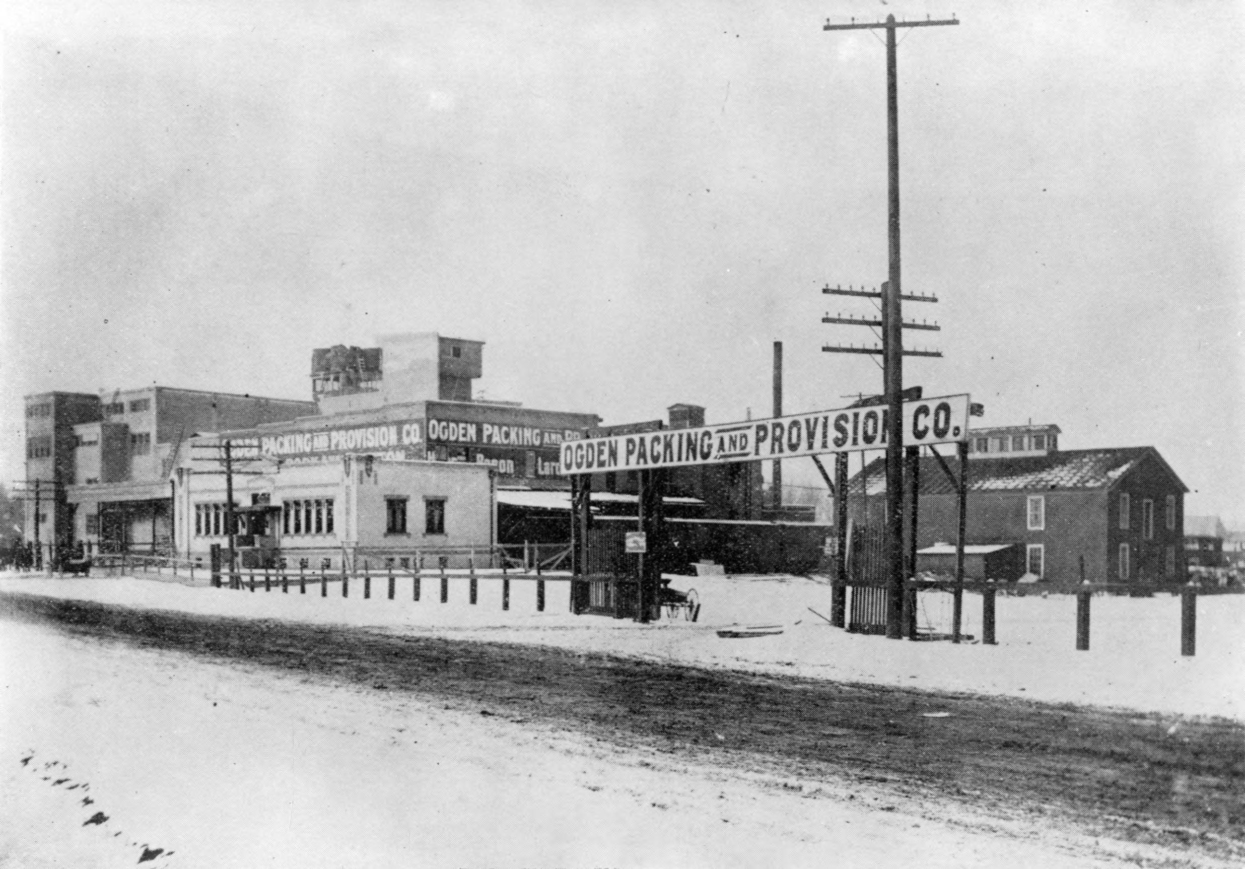 Ogden Packing And Provision Company Ca 1915 Ogden Utah