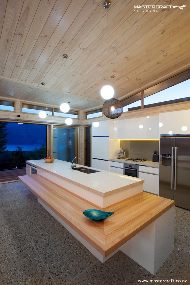 Kitchen Design Ideas New Zealand love the lighting too : great bespoke kitchen design idea from