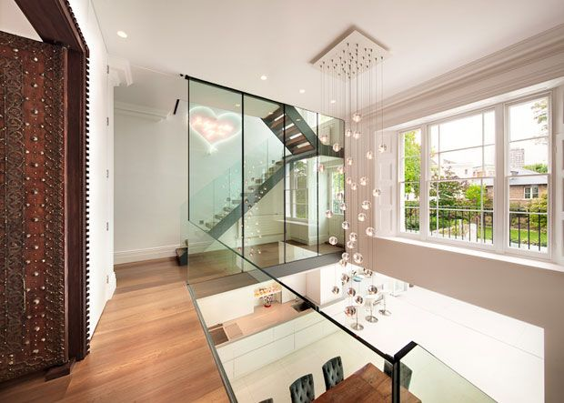 Contemporary Design Of Victorian House In Notting Hill