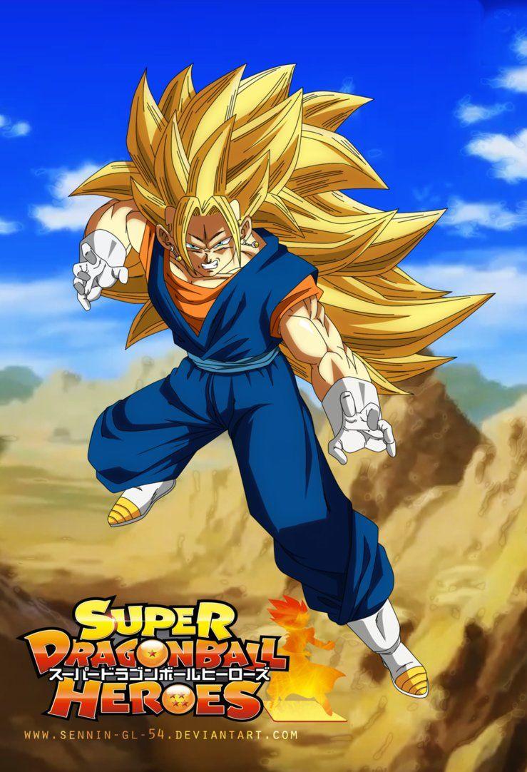 Vegito SSJ 3 Super Dragon Ball Heroes By SenniN GL 54