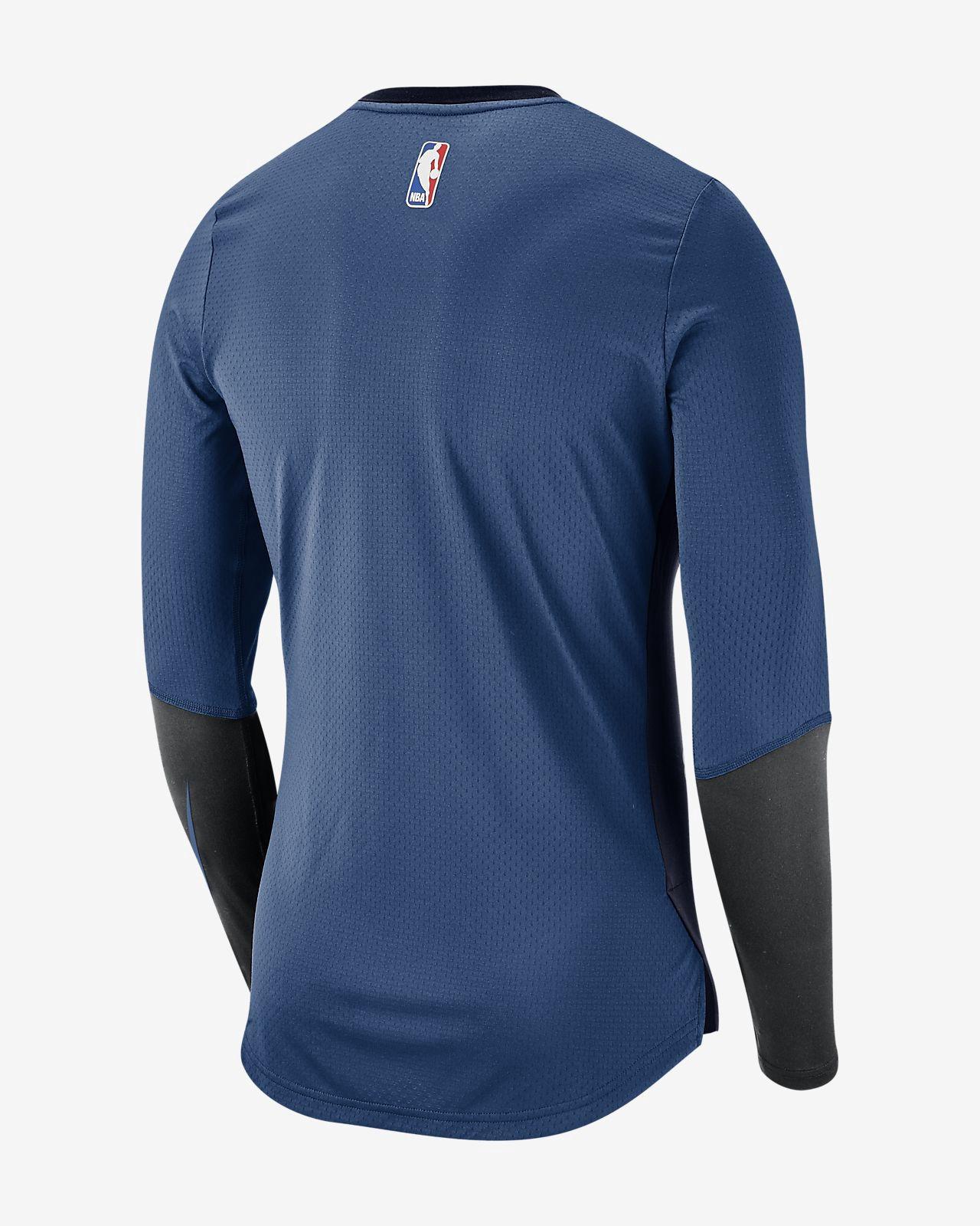 Nike Minnesota Timberwolves Dri-Fit Men s Long-Sleeve Nba Top - 2XL ... f5672b276