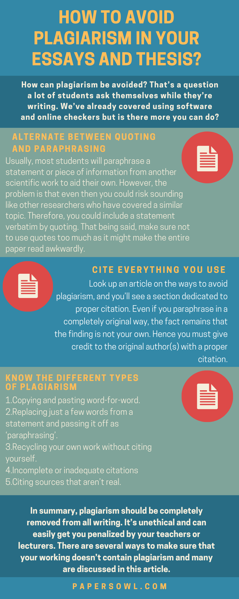 How To Remove Plagiarism From Thesi Proper Paraphrasing