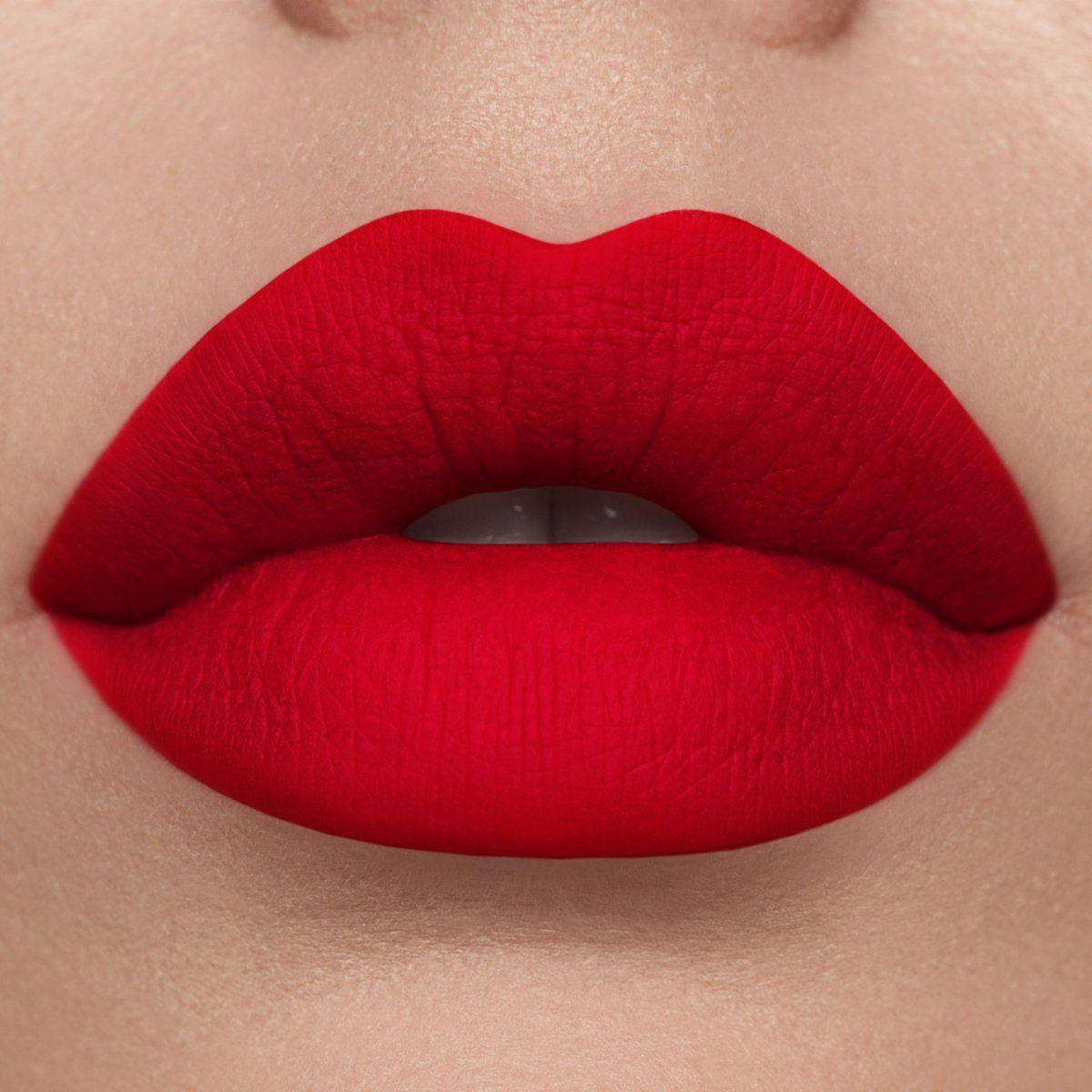 Photo of Lime Crime : Red Velvet Matte Lipstick in True Red