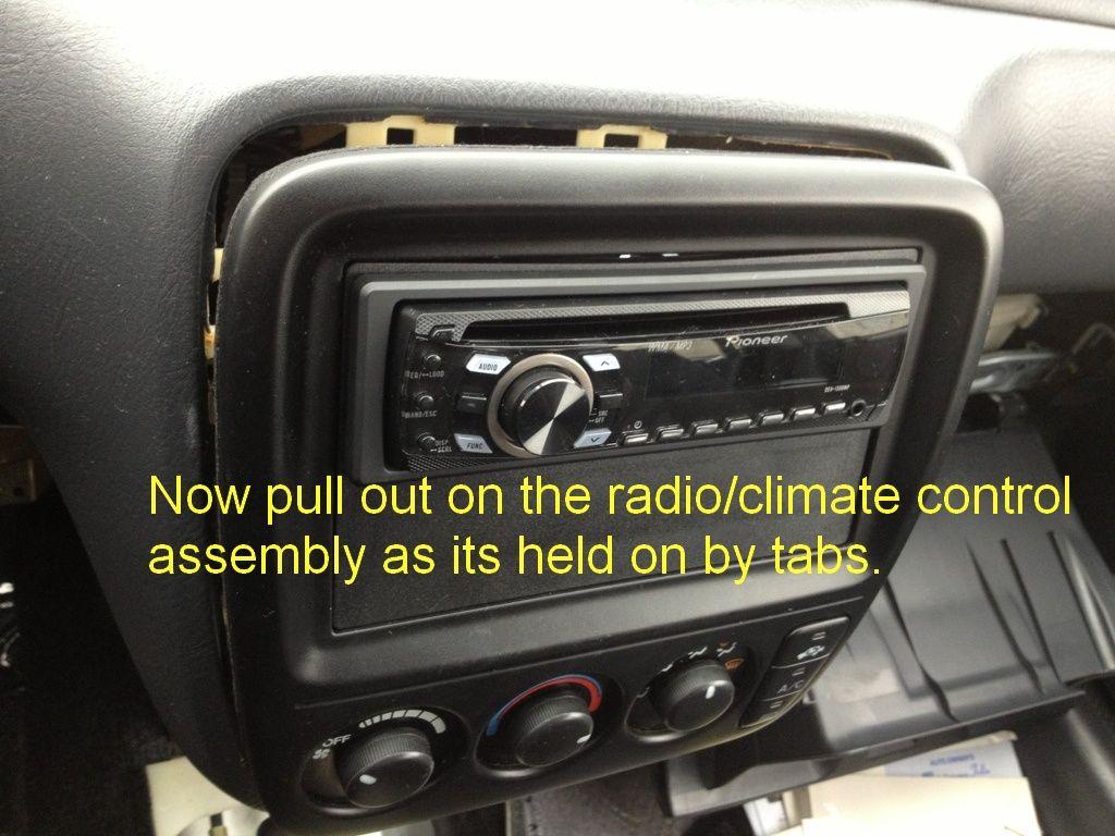DIY: 97-01 CRV 5 speed manual radio removal - Honda-Tech