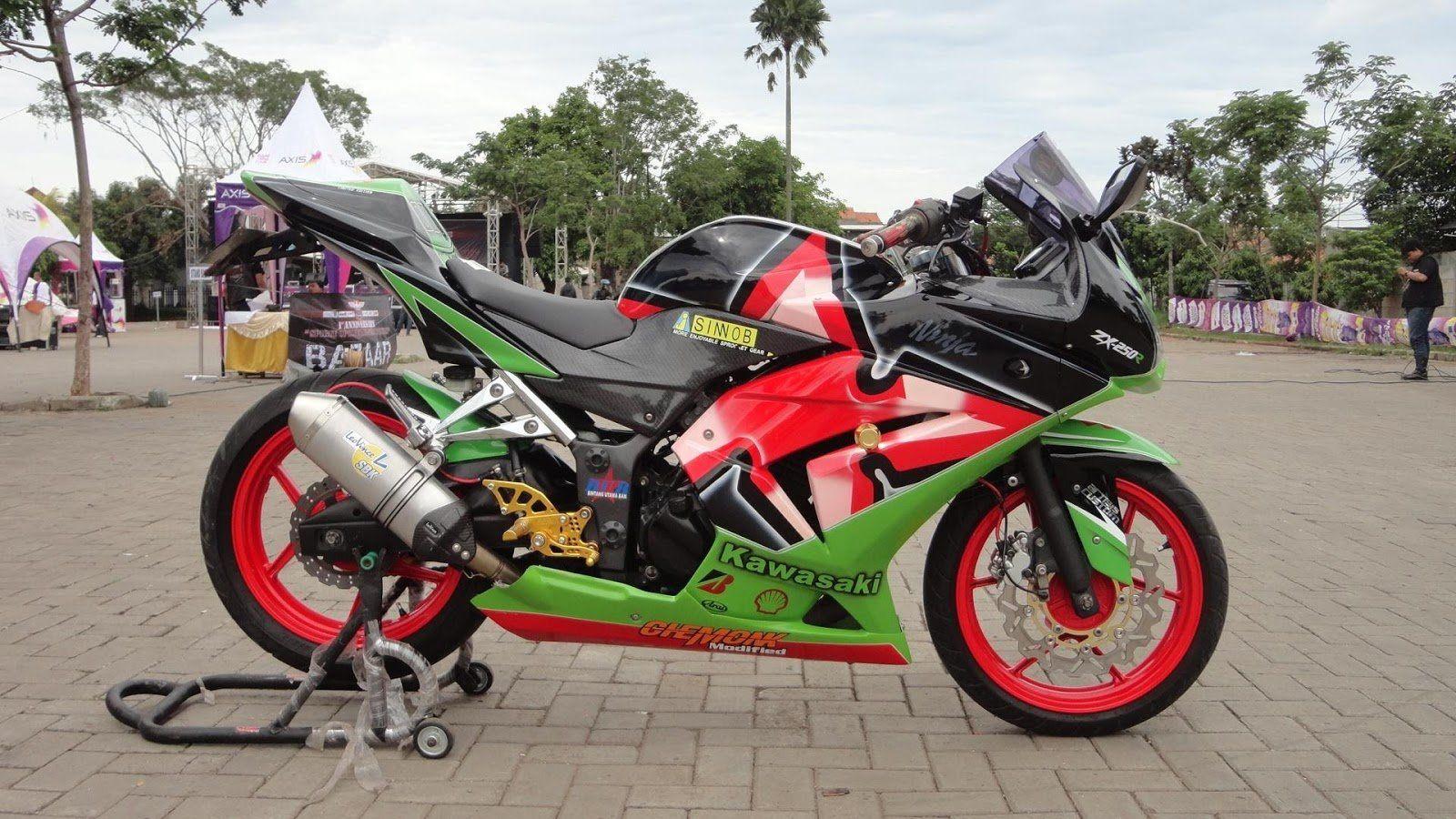 Modifikasi Motor Balap Ninja Ninja Motor Kawasaki Ninja 250r