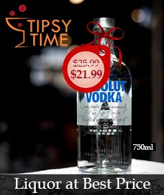 Tipsy Time Online Liquor Store Liquor Delivery in 60 min
