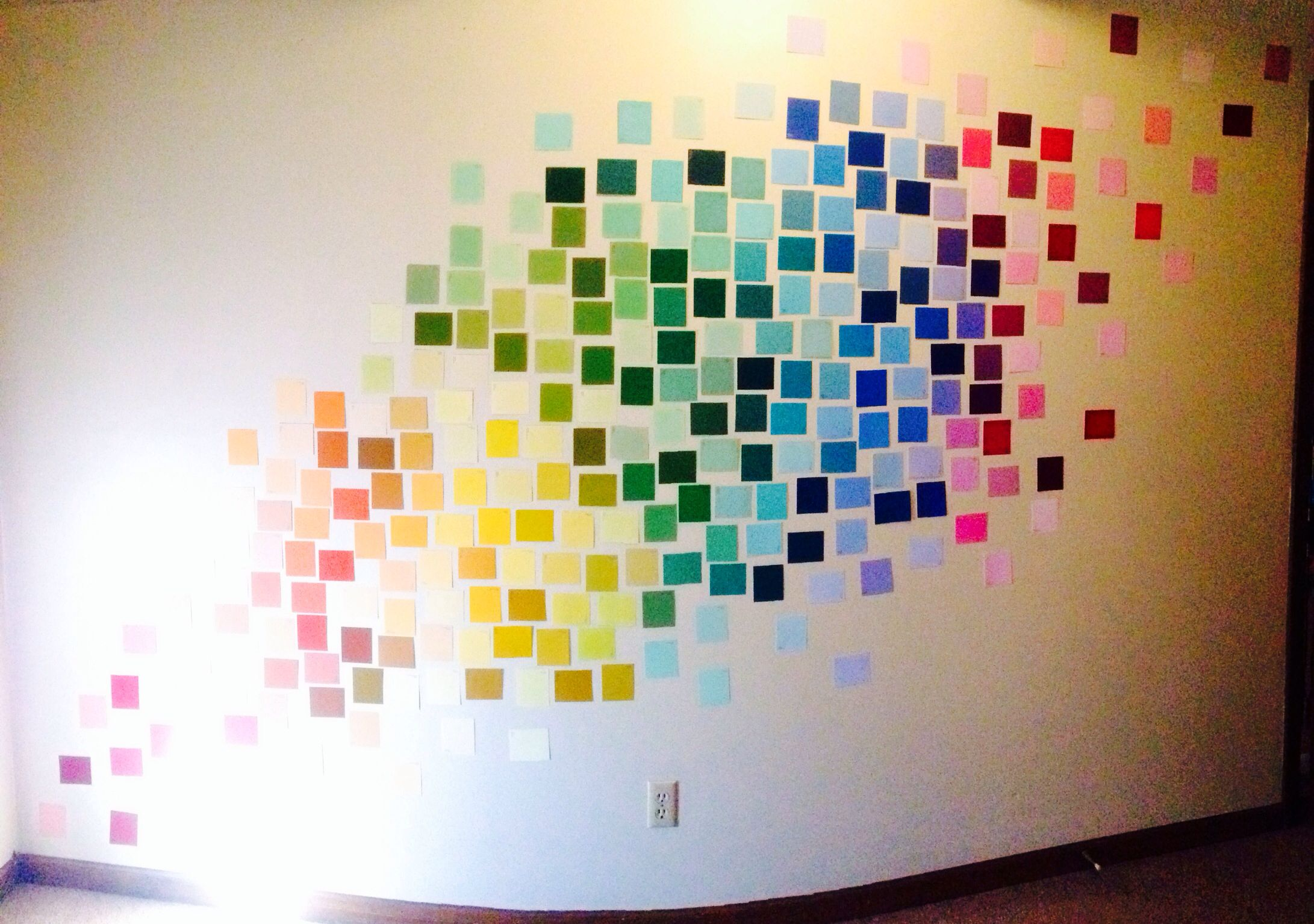 Paint Swatch Wall Decor