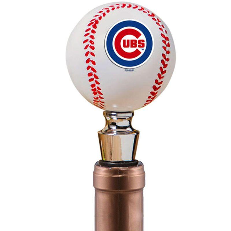 Chicago Cubs Resin Bottle Stopper