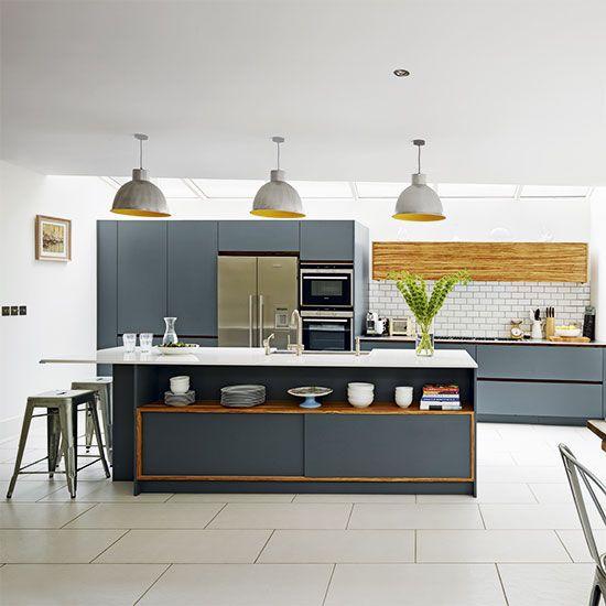 Modern kitchen designs | Grey kitchen designs, Kitchen interior ...