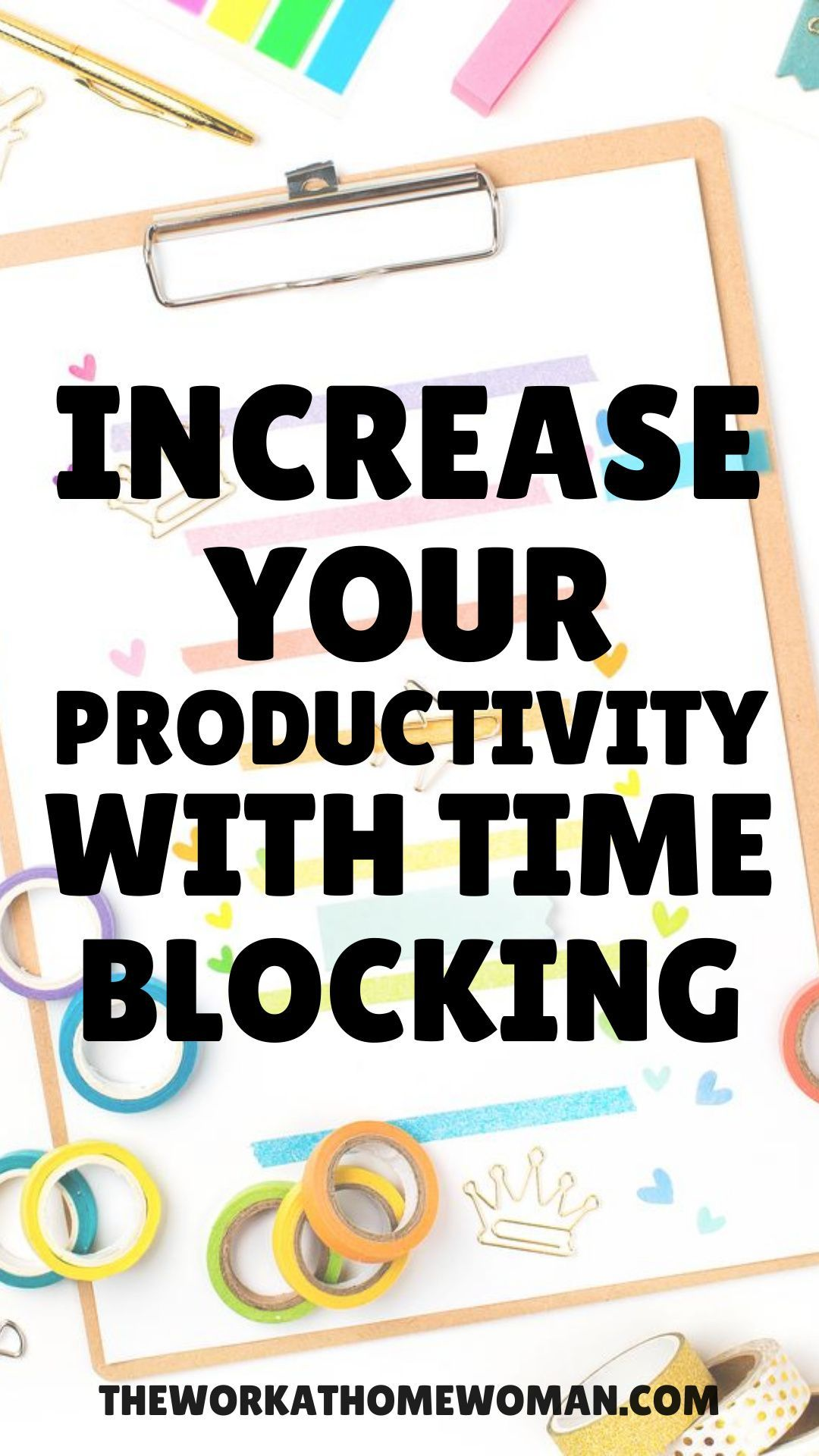 Increase your productivity with block scheduling free
