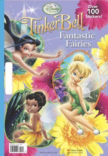 Fantastic Fairies Disney Fairies Giant Coloring Book By Rh Disney 9 99 Http Yourdailydream Or Disney Storybook Disney Princess Books Disney Essentials