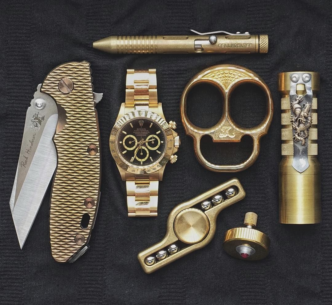 EDC...Brass Collection.