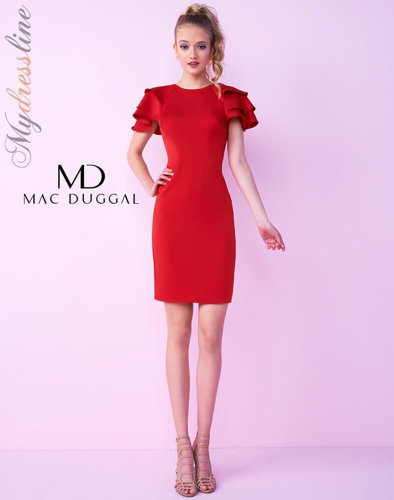 Nice amazing mac duggal n short cocktail dress lowest price