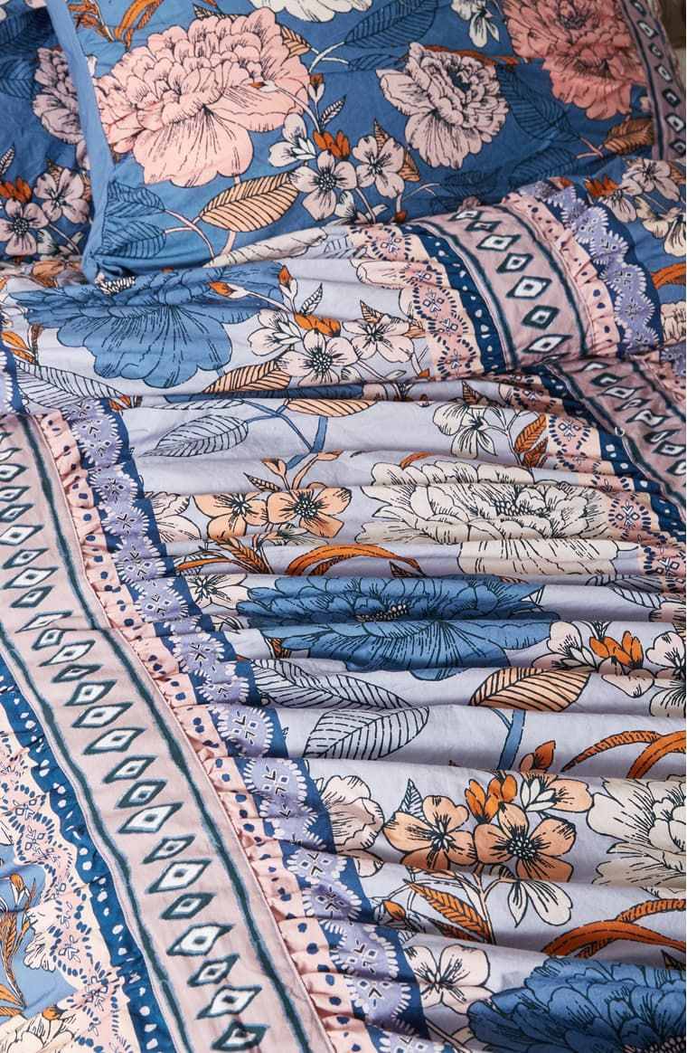 Anthropologie Tiled Garden Duvet Cover Nordstrom Duvet Covers