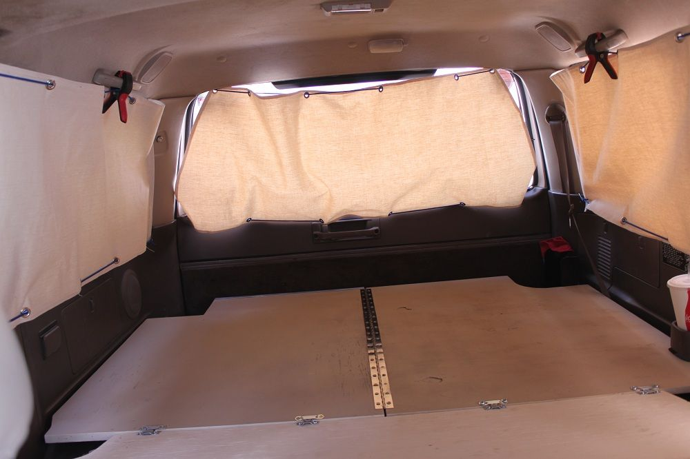 Click This Image To Show The Full Size Version Suv Camping Minivan Camping Truck Bed Camping
