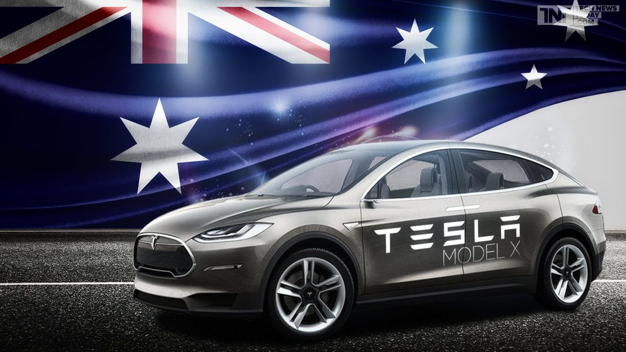 Australian EV Fans Can Now Order Tesla Model X Deliveries Due In - Automobil tesla