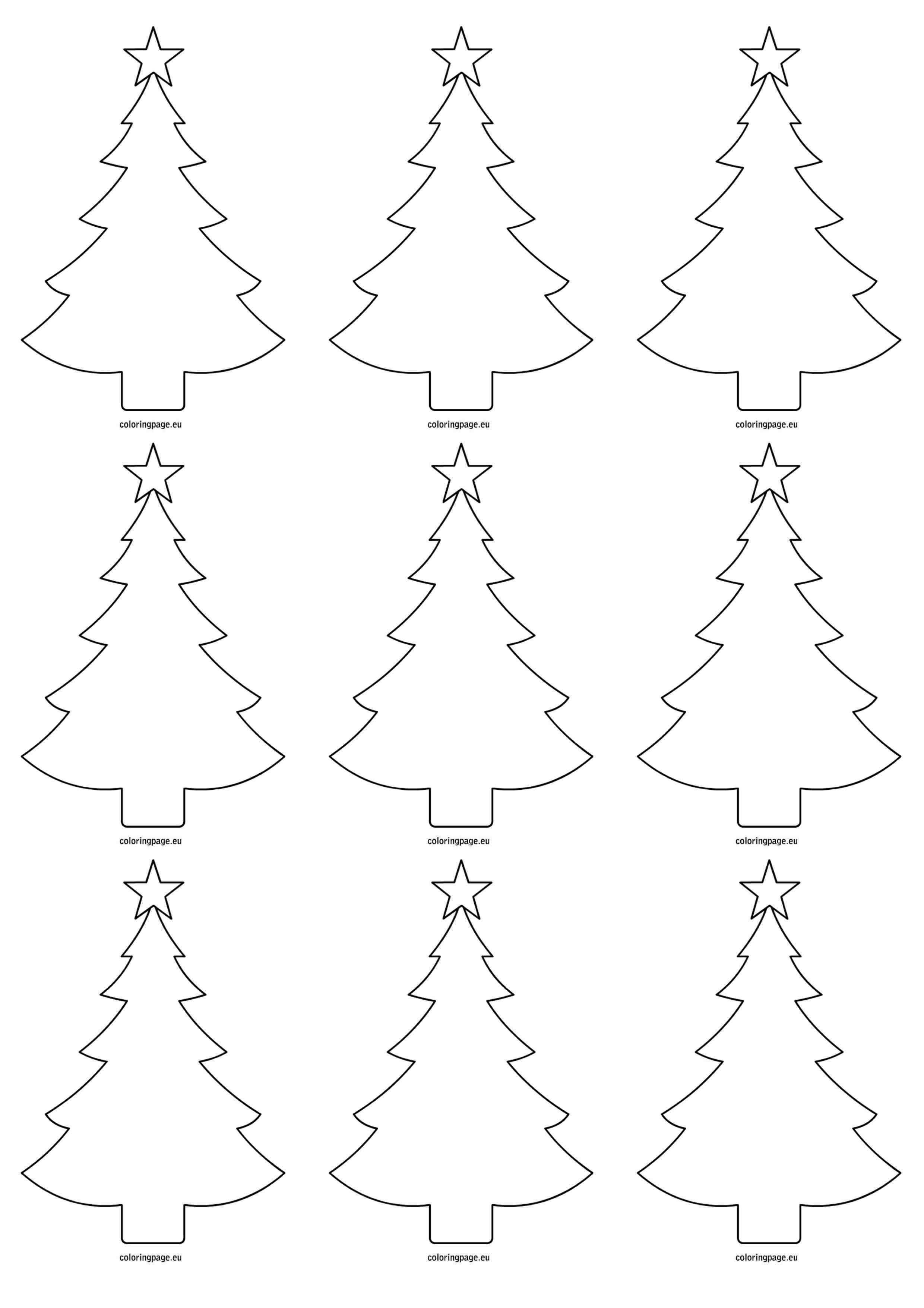 Elegant Simple Christmas Tree Painting Prekhome Christmas Tree Painting Christmas Tree Outline Simple Christmas Tree