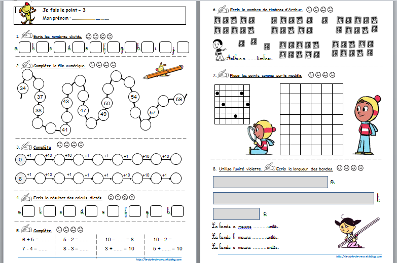 """Résultat de recherche d'images pour """"exercices de maths ce1 pdf"""""""