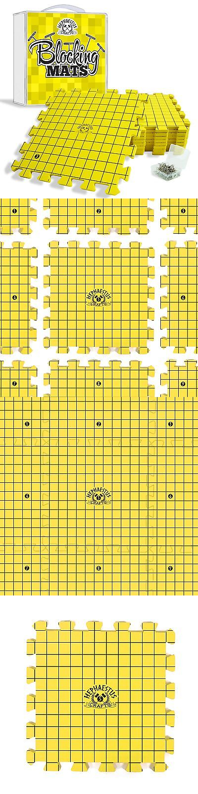 Notions and Tools 160708 Crafts Blocking Mats Knitting Boards Grids