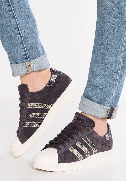 02fd61e764ae adidas Originals SUPERSTAR 80S - Sneaker low - utility black offwhite für  77,95