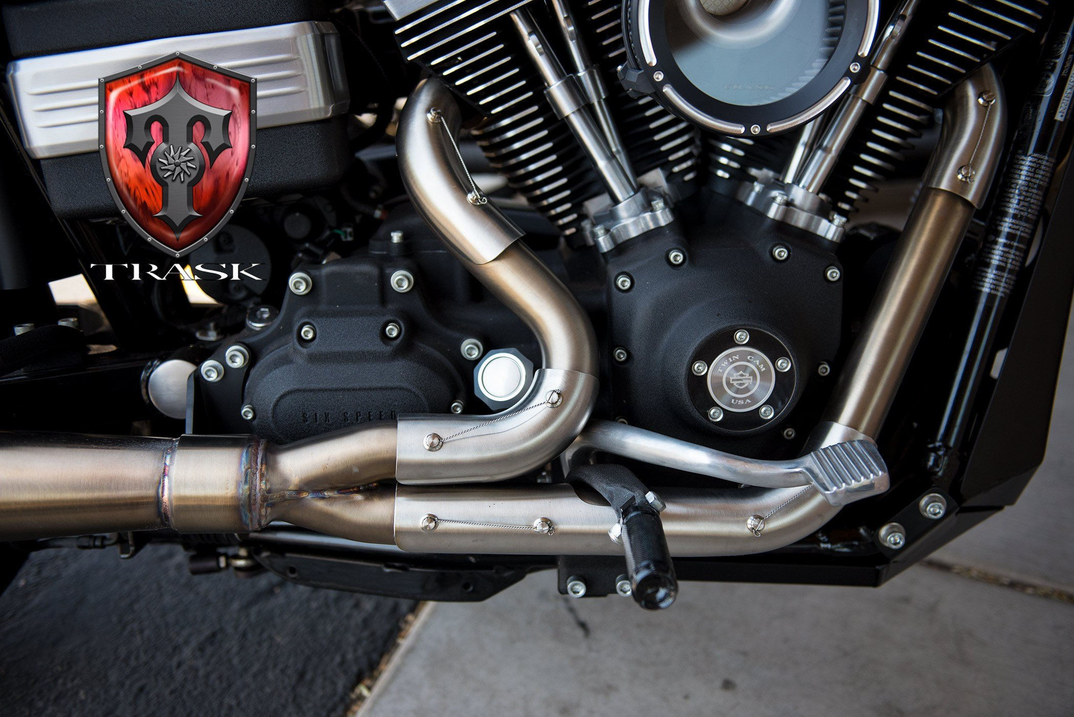 This Harley Davidson Exhaust Is Designed From The Ground Up To