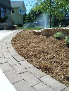 Image result for extend driveway with pavers