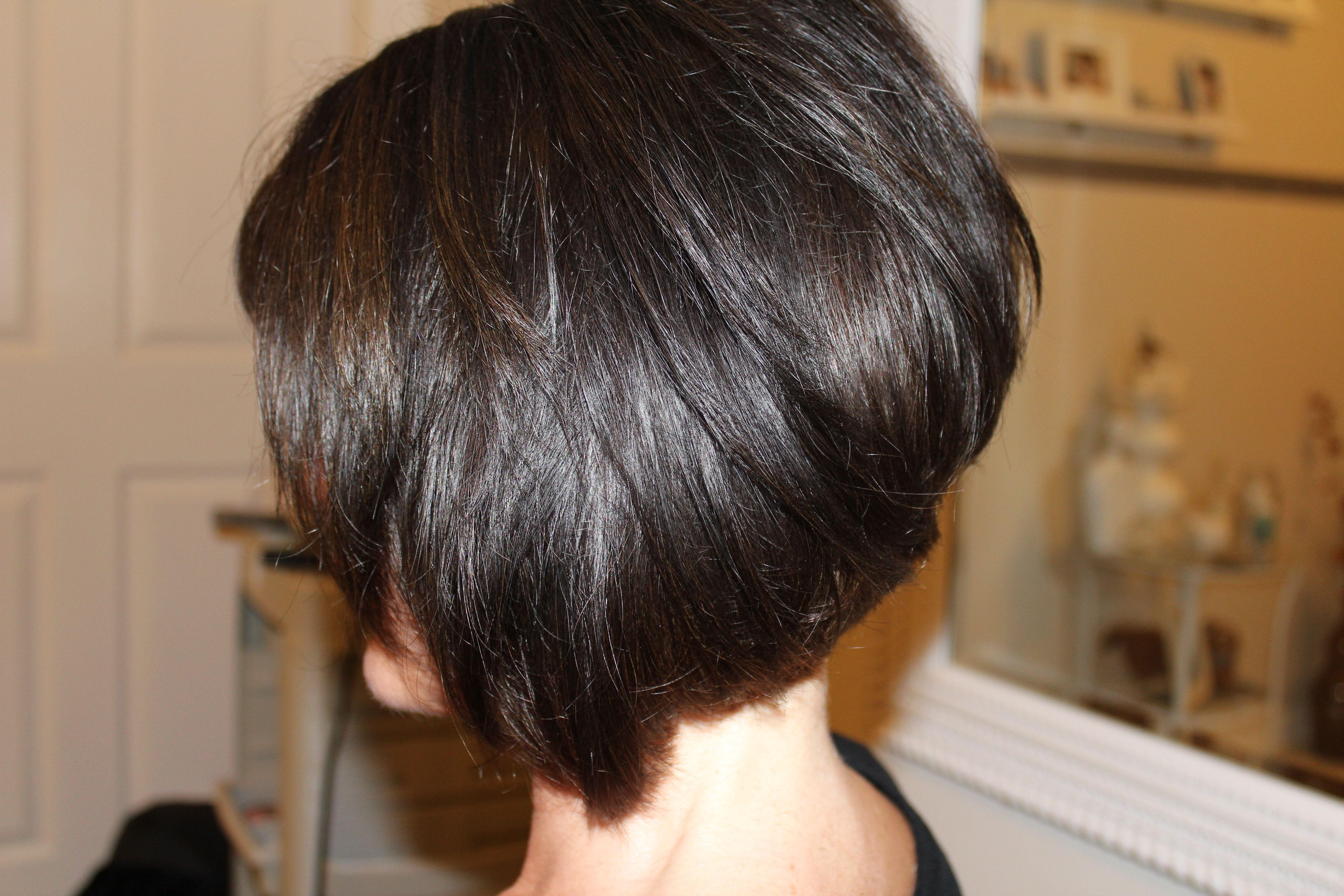short hair with great style a jump start on summer… | swing bob